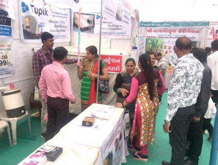 Live demonstration at Krishi Mela
